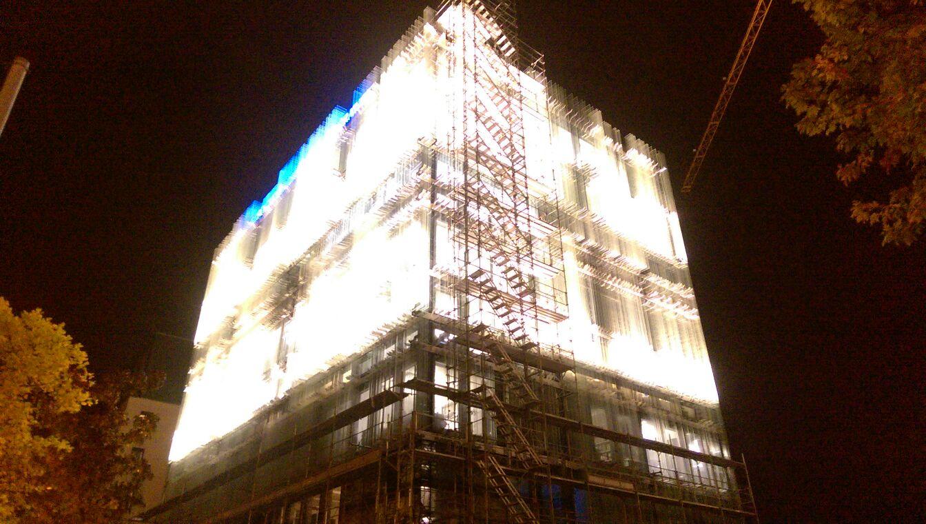 Eclairage de facades